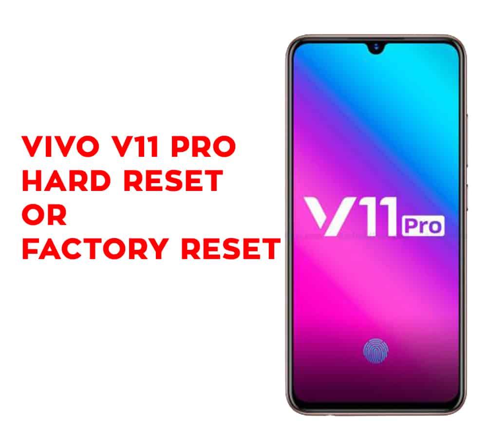 Vivo V11 Password Unlock Tool