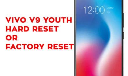 Vivo V9 Youth Hard Reset – Vivo V9 Youth Factory Reset