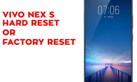 Vivo Nex S Hard Reset – Vivo Nex S Factory Reset – Unlock Pattern Lock