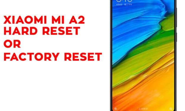XIAOMI Mi A2 Hard Reset – XIAOMI Mi A2 Factory Reset – Unlock Pattern Lock