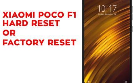 XIAOMI Poco F1 Hard Reset – XIAOMI Poco F1 Factory Reset – Unlock Pattern Lock