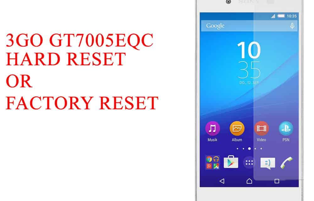 3Q Q-pad RC1025F Hard Reset -3Q Q-pad RC1025F Factory Reset – Unlock Pattern Lock