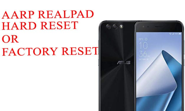 AARP RealPad Hard Reset -AARP RealPad Factory Reset – Unlock Pattern Lock