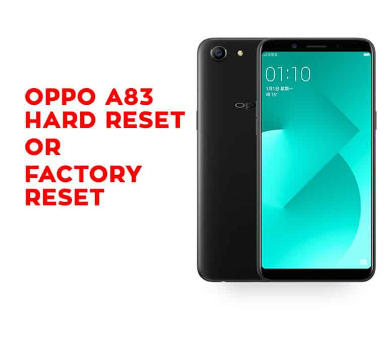 Oppo A83 Hard Reset Oppo A83 Factory Reset Hard Reset Any Mobile