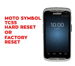 Motorola Moto G7 Power Hard Reset - Motorola Moto G7 Power Factory