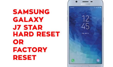 Samsung J7 Star Hard Reset – Samsung Galaxy J7 Star Soft Reset, Factory Reset, Recovery