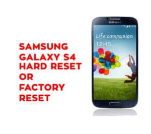 Samsung A7 2018 Hard Reset Not Working