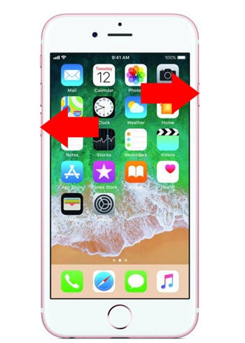 iPhone 6s Hard Reset Steps