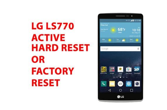 Lg ls770 Hard Reset – Lg ls770 Factory Reset, Recovery, Unlock Pattern