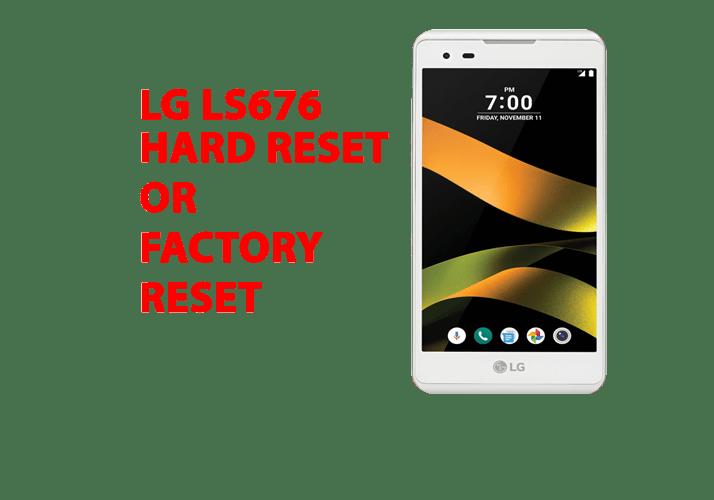 Lg ls676 Hard Reset - Lg ls676 Factory Reset, Recovery, Unlock