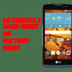 Lg tribute 2 Hard Reset – Lg tribute 2 Factory Reset, Recovery, Unlock Pattern