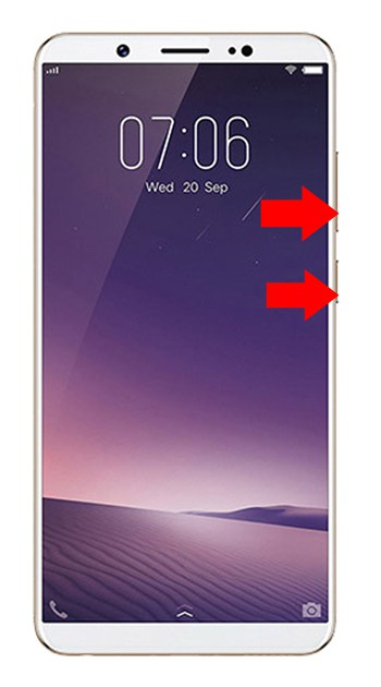 Vivo V7 Hard Reset Steps