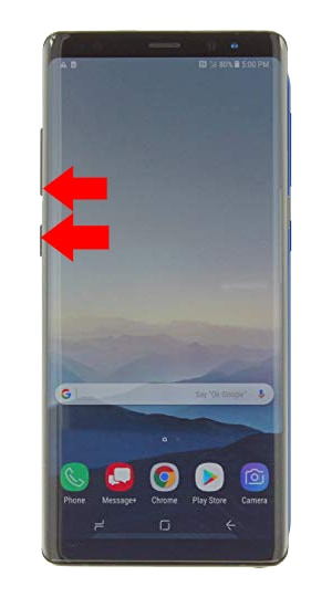 Samsung Note 8 Factory Reset Steps