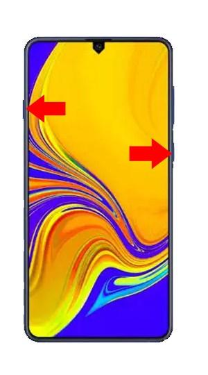 Samsung A30 Hard Reset Steps
