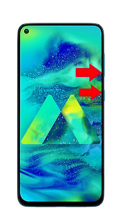 Samsung M40 Hard Reset