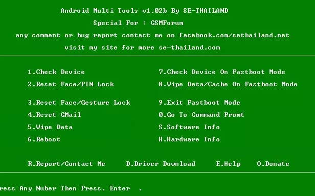 Download Android Multi tool latest version