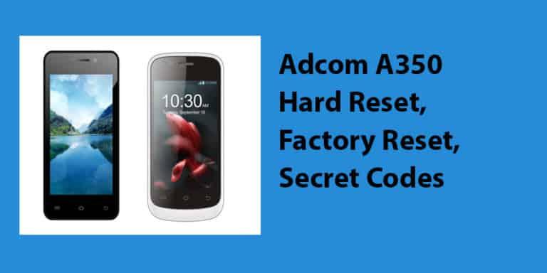 Adcom A350 Heard Reset