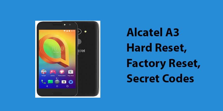 Alcatel-A3-Hard-Reset